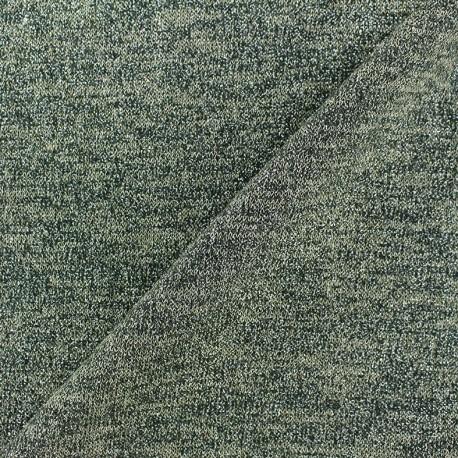 tissus pas cher tissu maille l g re lurex glitter vert. Black Bedroom Furniture Sets. Home Design Ideas