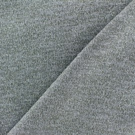 Light Stitch lurex fabric Glitter - light grey x 10cm
