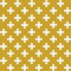 Fabric Four Corners A - Gold x 10cm