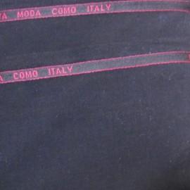 ♥ Coupon 85 cm X 150 cm ♥ Tissu tailleur noir