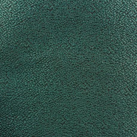 Tissus pas cher : Tissu jacquard texturé vert