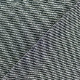 Tissu Maille viscose lurex Party noir x 10cm