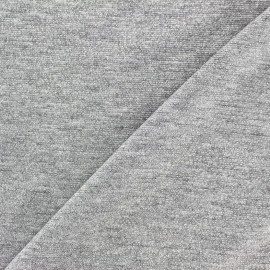 Viscose lurex Stitch Fabric Party - silver x 10cm