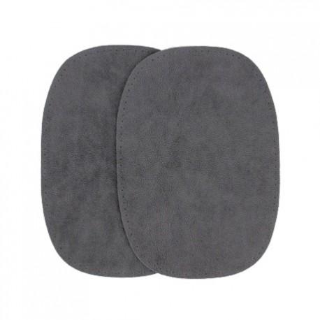 elbow patch template - elbow patch dark grey false suede ma petite mercerie