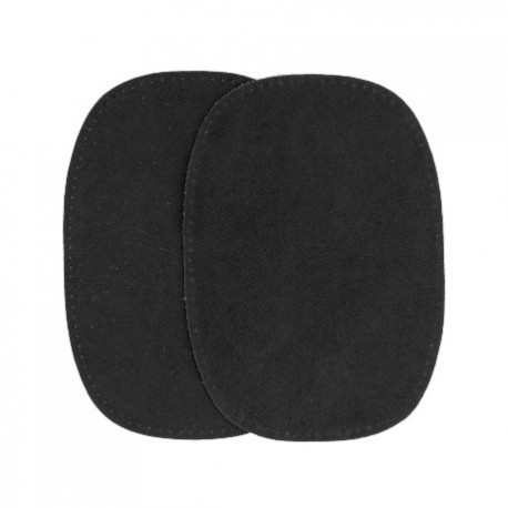 Elbow patch black false suede ma petite mercerie for Elbow patch template