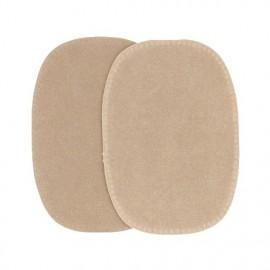 Imitation buckskin elbow patch - sand