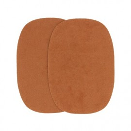 Elbow patch - whisky false suede