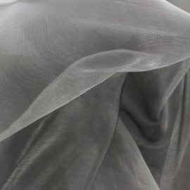 Organza Fabric - grey x 50cm