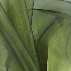 Organza Fabric - khaki x 50cm
