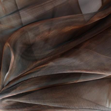 Organza Fabric - light brown x 50cm