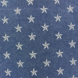 Jeans fabric Special dot x 10cm