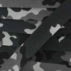 Biais army gris x 1 m