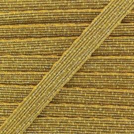 Shiny Lurex ribbon x 1m - golden