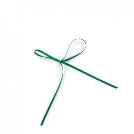 Comete Satin ribbon 3mm - imperial green
