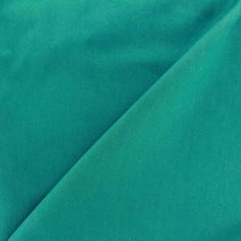 Tissu jeans 400gr/ml - vert turquoise x 10cm