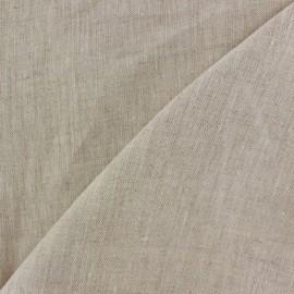 Tissu lin naturel x 10cm