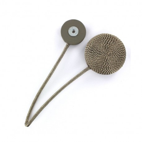 Magnet curtain tieback - grege