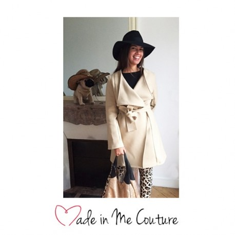 """Bali coat"" sewing pattern - multicolored"