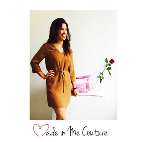 """""""Addict Dress"""" sewing pattern from Made In Me Couture - multicolored"""