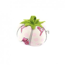 Tomato pin cushion Haute couture - pink