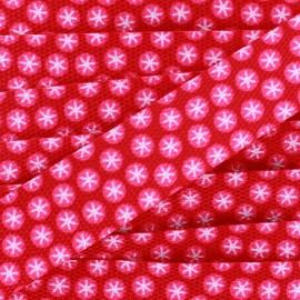 Strap snow Flakes x1m - pink