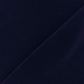 Tissu toile de coton uni Violet x 10cm