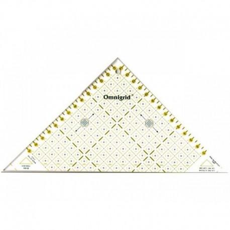 Règle de découpe Omnigrid - triangle rapide 15 cm