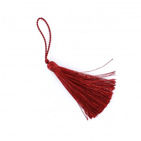 Pompom 70 mm - garnet red