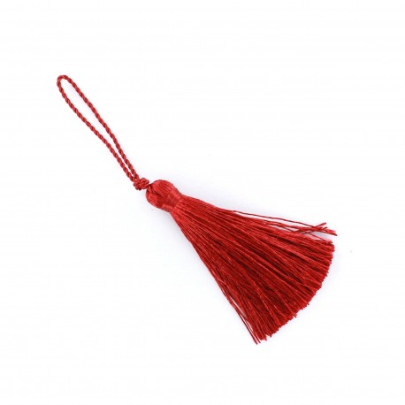 Pompom 70 mm - cherry