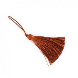Pompom 70 mm - mahogany