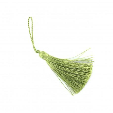 Pompon 70 mm pistache