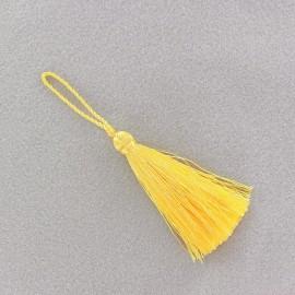 Pompom 70 mm - straw-colored