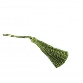 Pompom 70 mm - deep olive-green