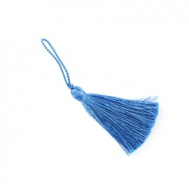 Pompom 70 mm - corn-flower blue