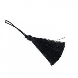 Pompon 70 mm noir