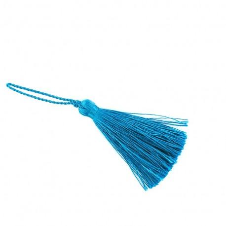 Pompom 70 mm - turquoise