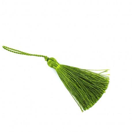 Pompom 70 mm - olive green