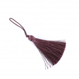 Pompon 70 mm prune