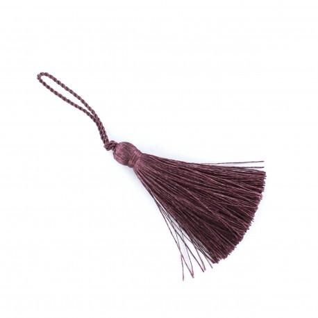 Pompom 70 mm - plum