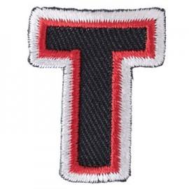 Thermocollant brodé Alphabet Fun - T