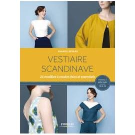 """Livre """"Vestiaire scandinave - 24 modèles à coudre chics et essentiels"""""""