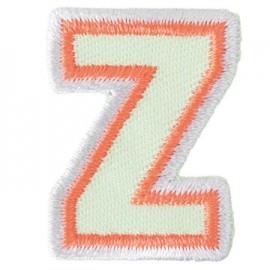 Thermocollant brodé Alphabet Fun - Z