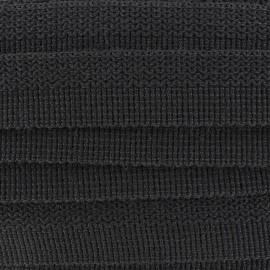 Ruban Lainage Loxley noir x 1m