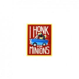 Thermocollant Toile Les Minions - I honk for minions