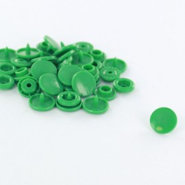 10 snap-buttons Kam - ocean green