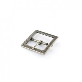 Metal buckle William - silver