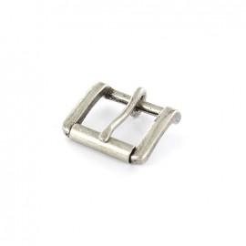 Metal buckle John - silver