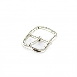 Metal buckle Grace - silver