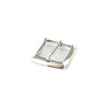Boucle Ceinture métal Louise nickel