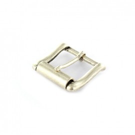 Metal buckle Lana - satin nickel